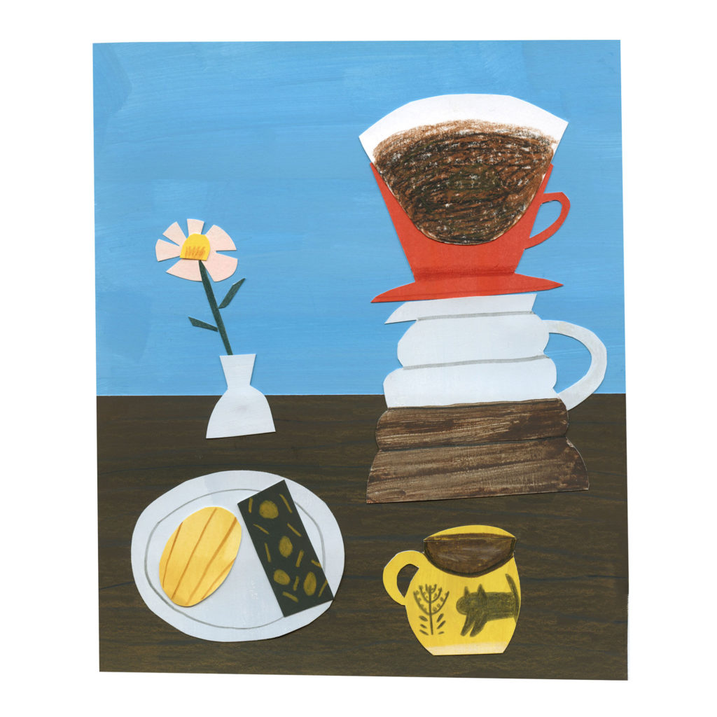 Still Life Collage - Coffee Time